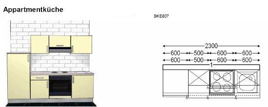 k chenzeile 230 cm my blog. Black Bedroom Furniture Sets. Home Design Ideas